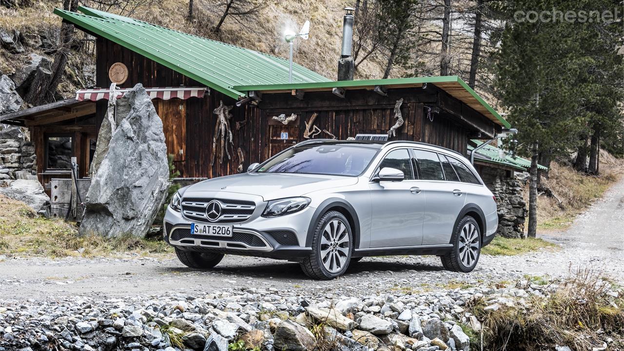 Mercedes-Benz E All-Terrain: Contacto
