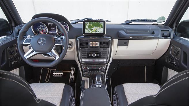 Mercedes benz clase g amaxofilia for Interior mercedes clase a