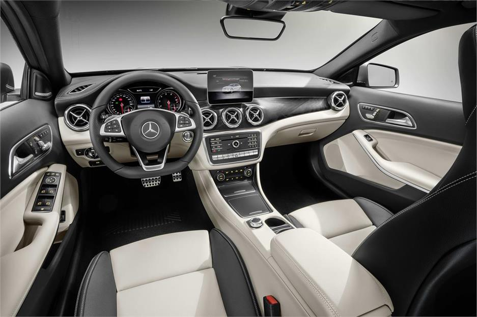 Mercedes-Benz GLA restyling 2017