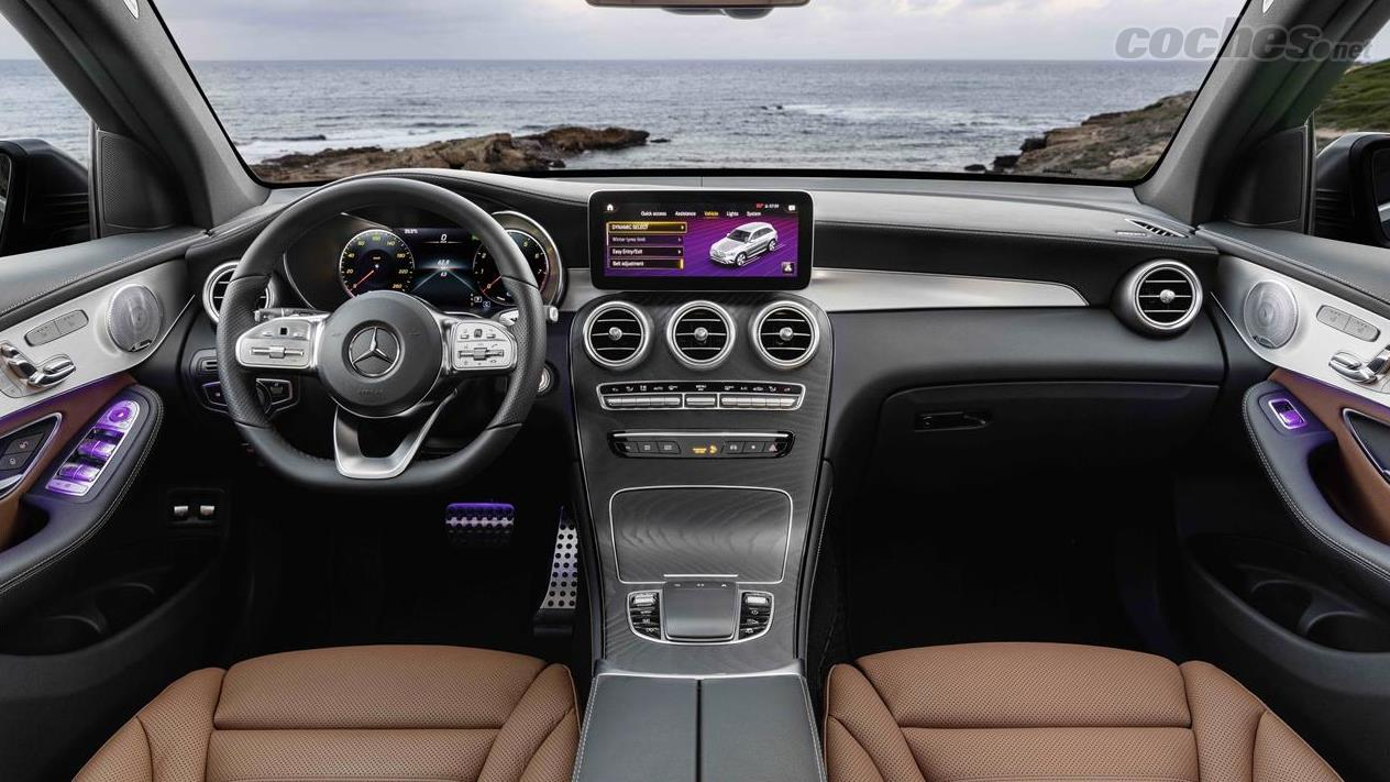 Mercedes-Benz GLC: Actualizado