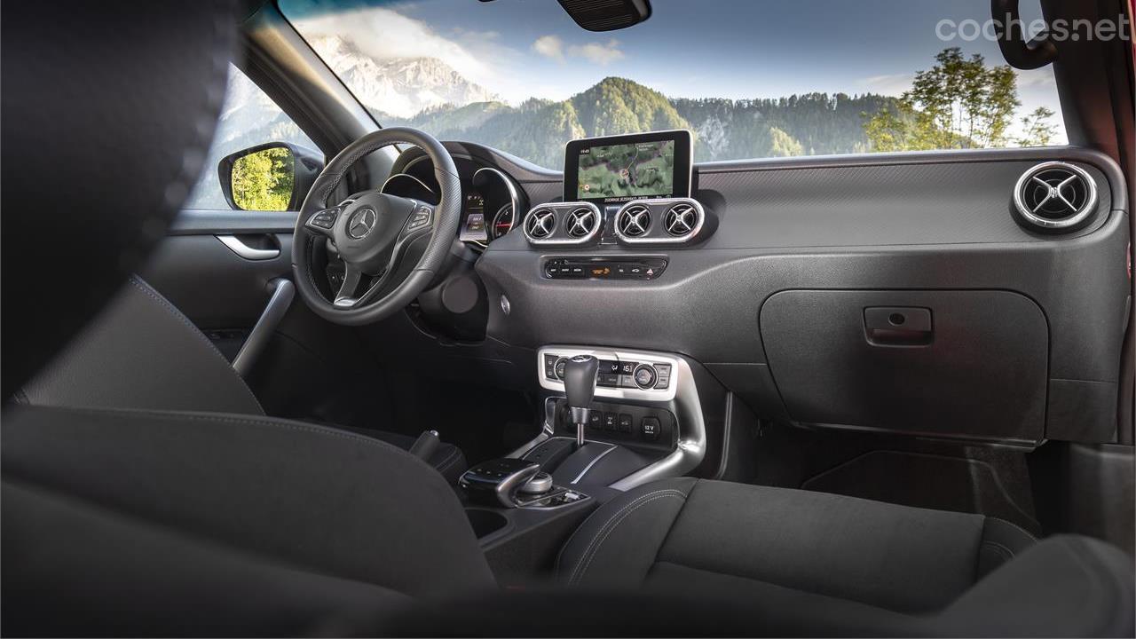 Mercedes X 350 d: Con motor V6 diésel
