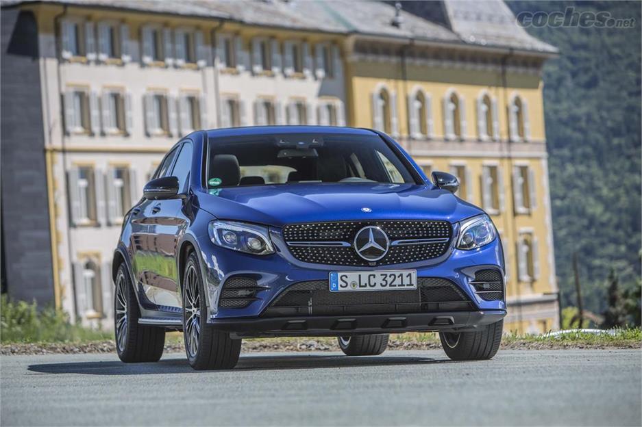 Mercedes-Benz GLC Coupé diseño impecable