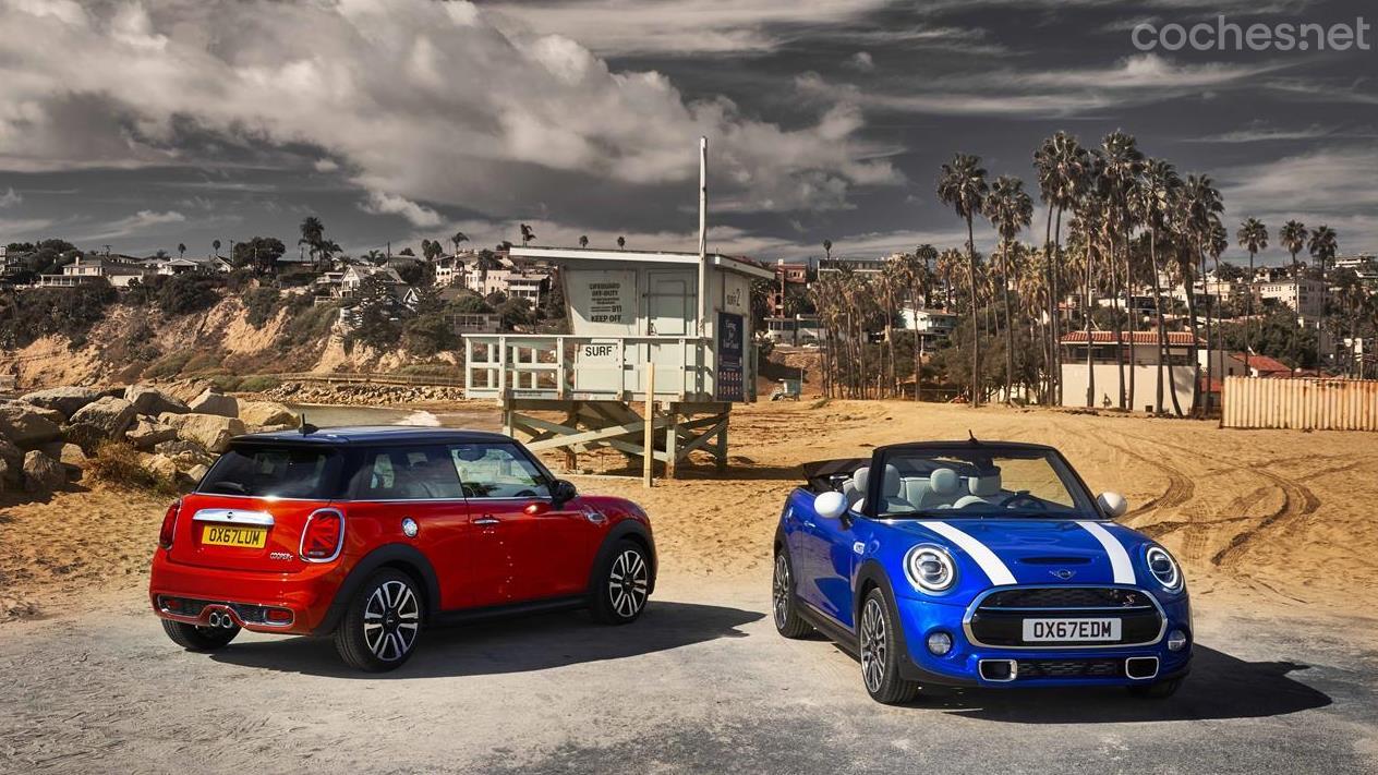Mini 3 y 5 Puertas y Mini Cabrio 2018
