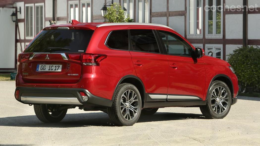 Mitsubishi Outlander gasolina 7 plazas
