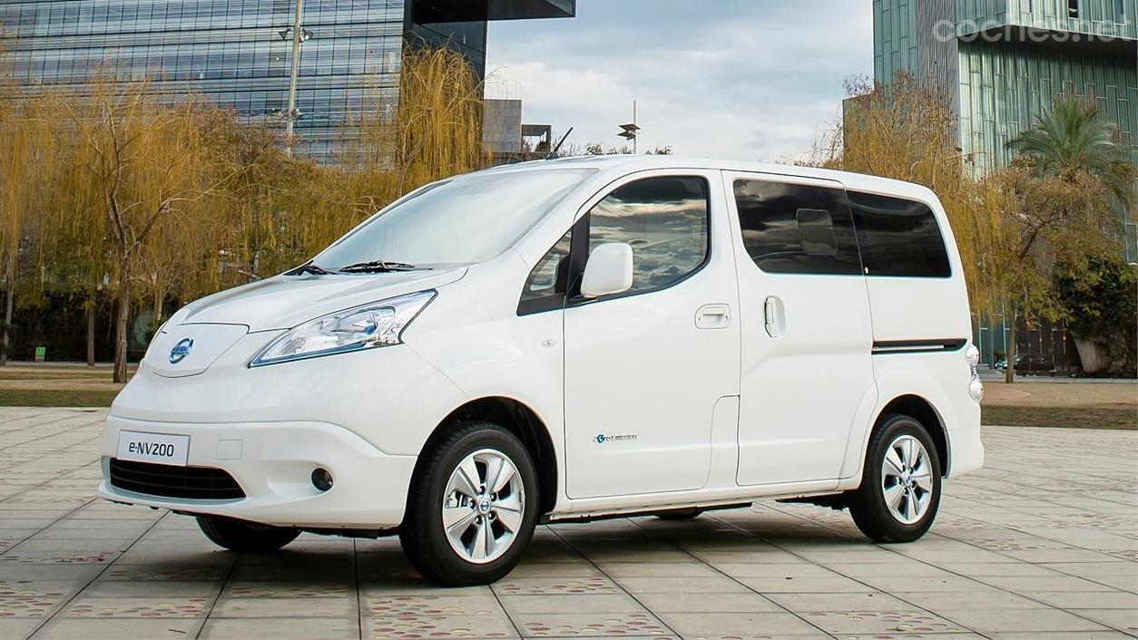 Nissan e-NV200 y Evalia 40kWh
