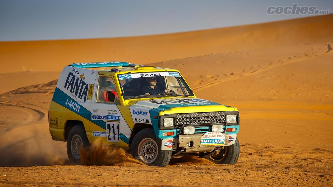 Nissan recupera el Patrol del Dakar