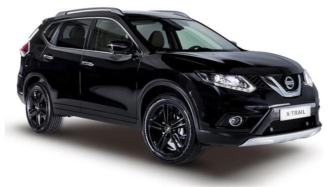 nissan qashqai y x trail black edition noticias. Black Bedroom Furniture Sets. Home Design Ideas