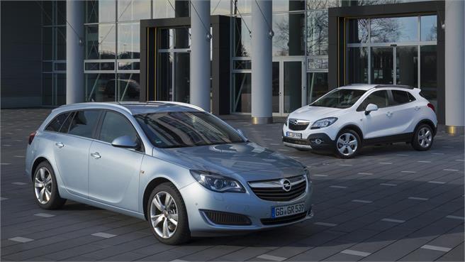Opel Mokka 1.6 CDTI y Opel Insignia 2.0 CDTI
