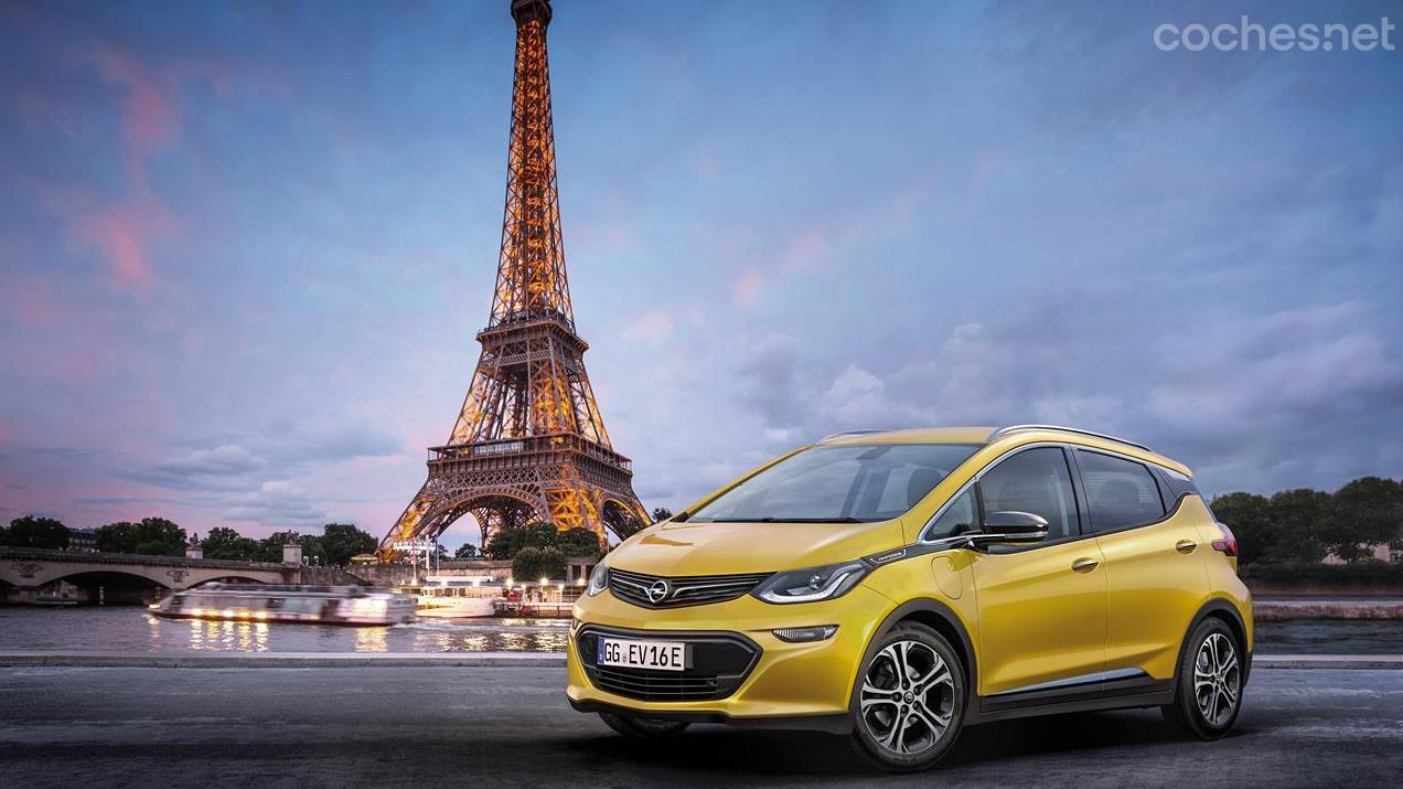 Opel Ampera-e: Primicia en París