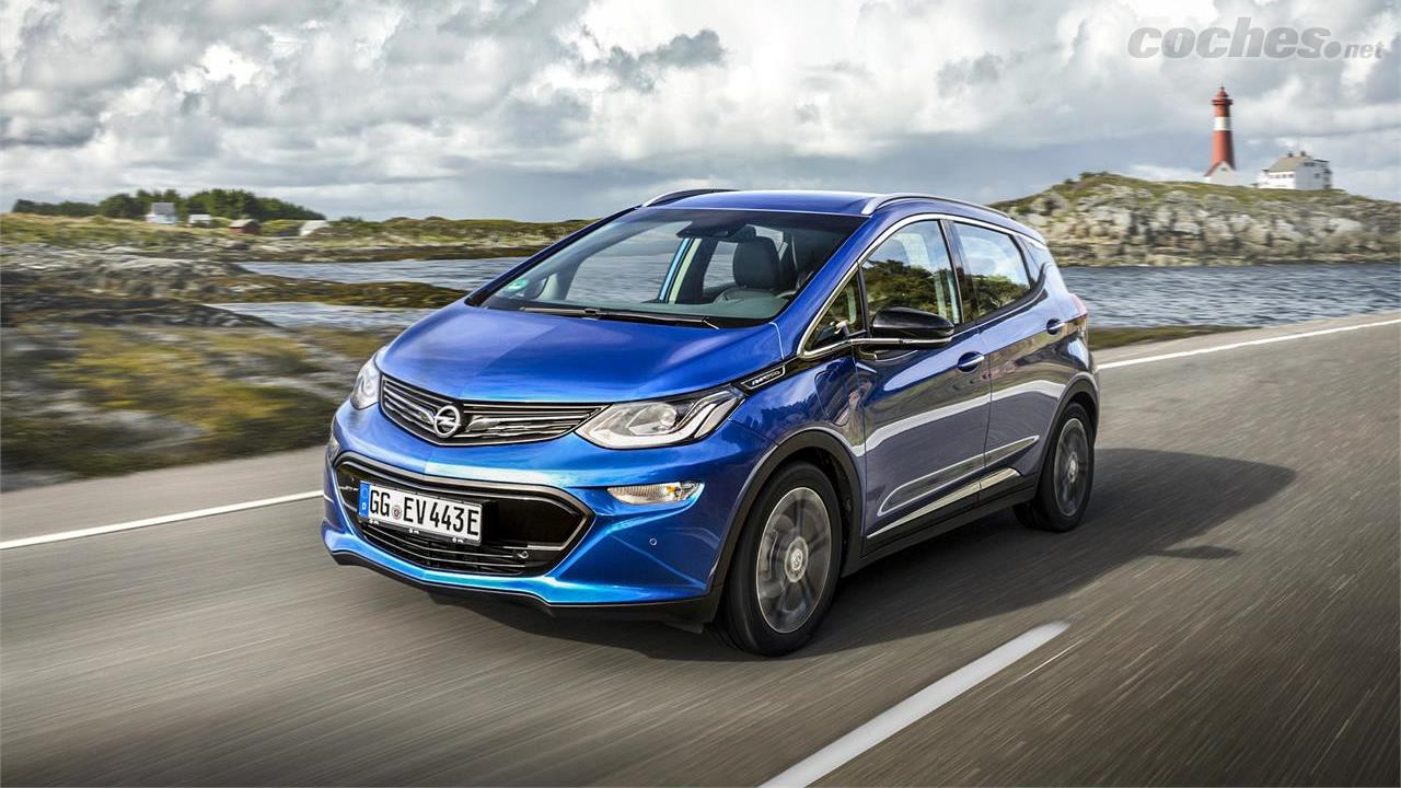 Opel Ampera-e: Primera prueba en vídeo