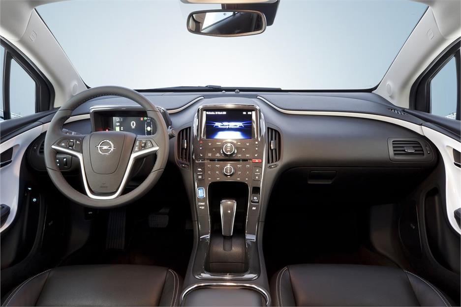 Pruebas Opel Ampera 2011 Noticias Coches Net