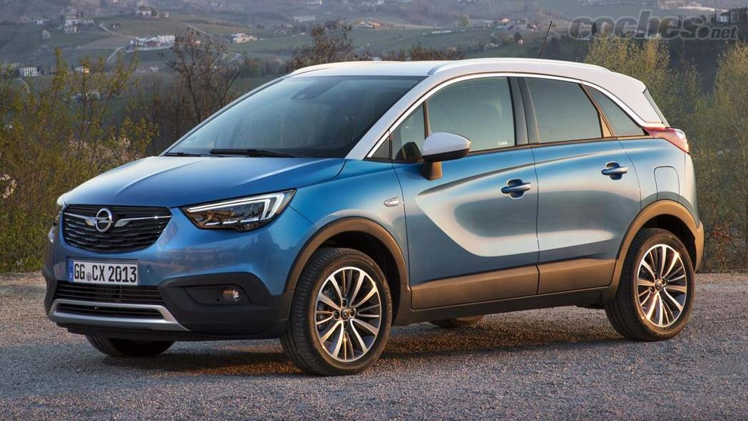 opel crossland x suv con tintes de monovolumen noticias. Black Bedroom Furniture Sets. Home Design Ideas
