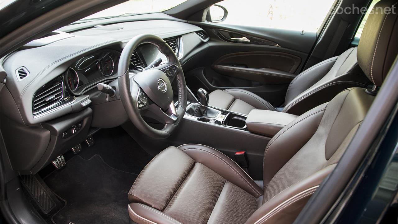 Opel Insignia Grand Sport: Prueba