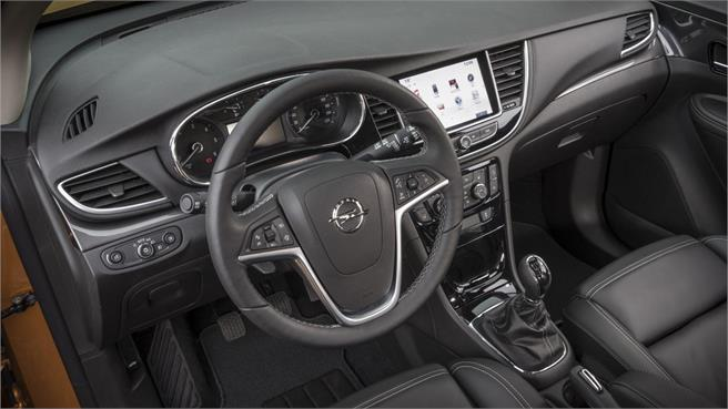 Opel mokka x m s bonito y mejor equipado noticias for Opel mokka x interieur