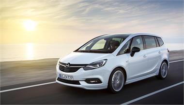 Opel Zafira: Restyling y más conectividad