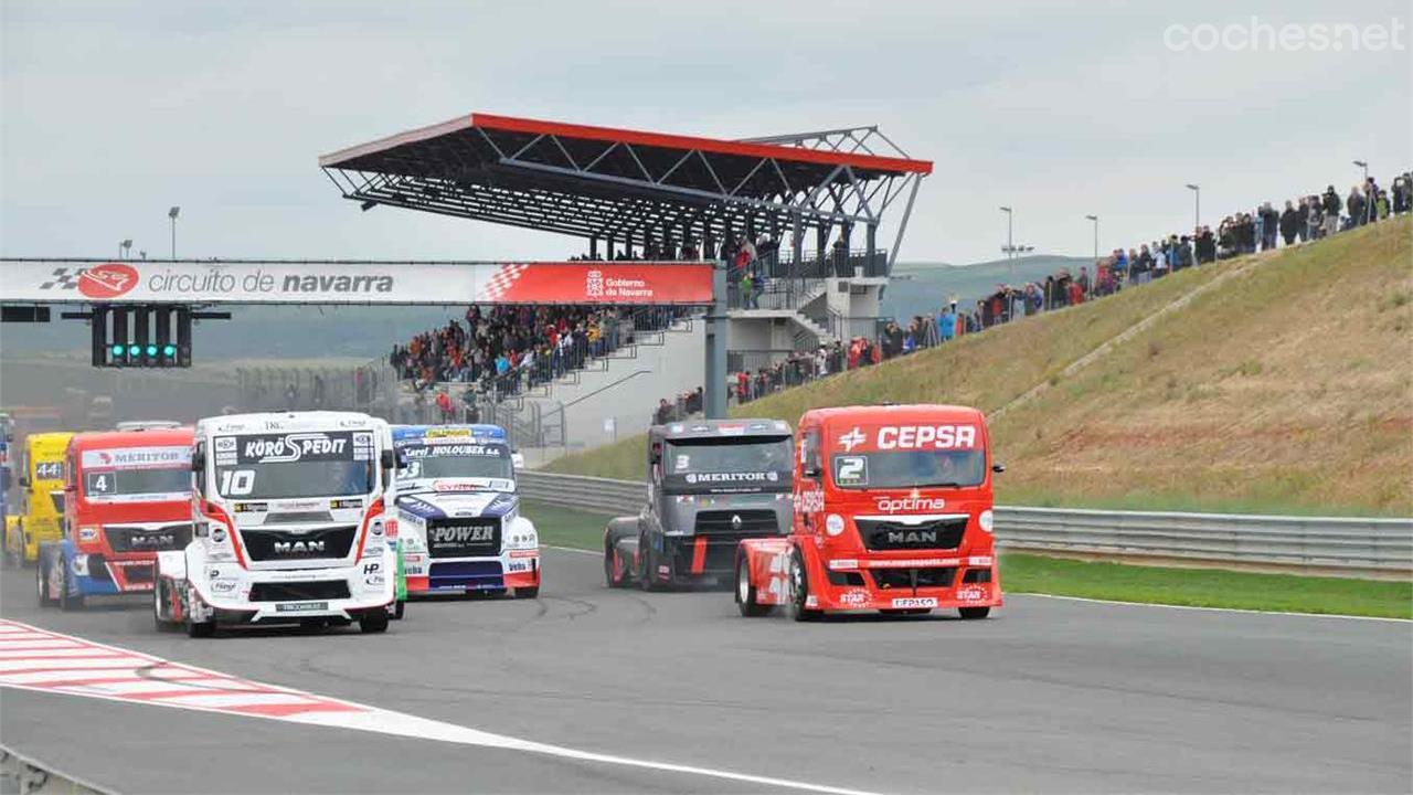 Circuito Navarra : Gp camión de navarra circuito de los arcos actualidad
