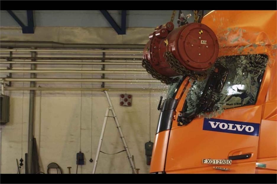 La seguridad del New Volvo FH