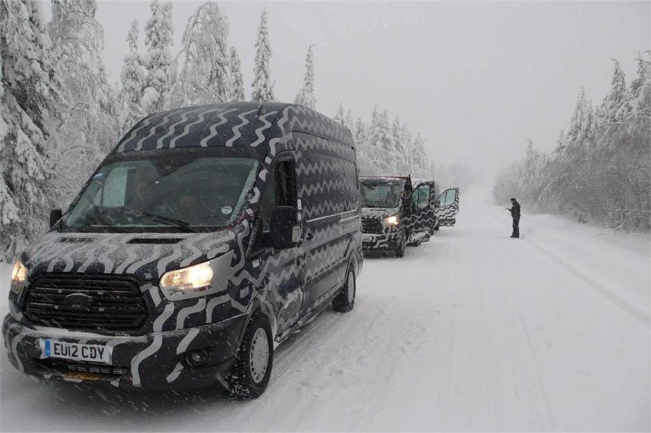 Test resistencia Ford Transit