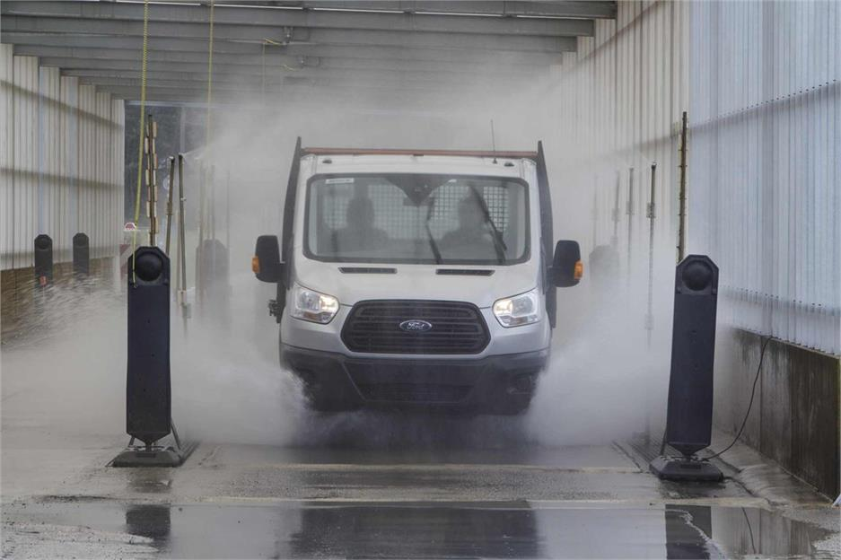 Test resistencia Ford Transit