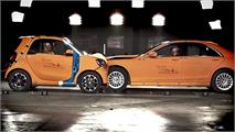 Crash Test: Smart Fortwo contra Mercedes Clase S