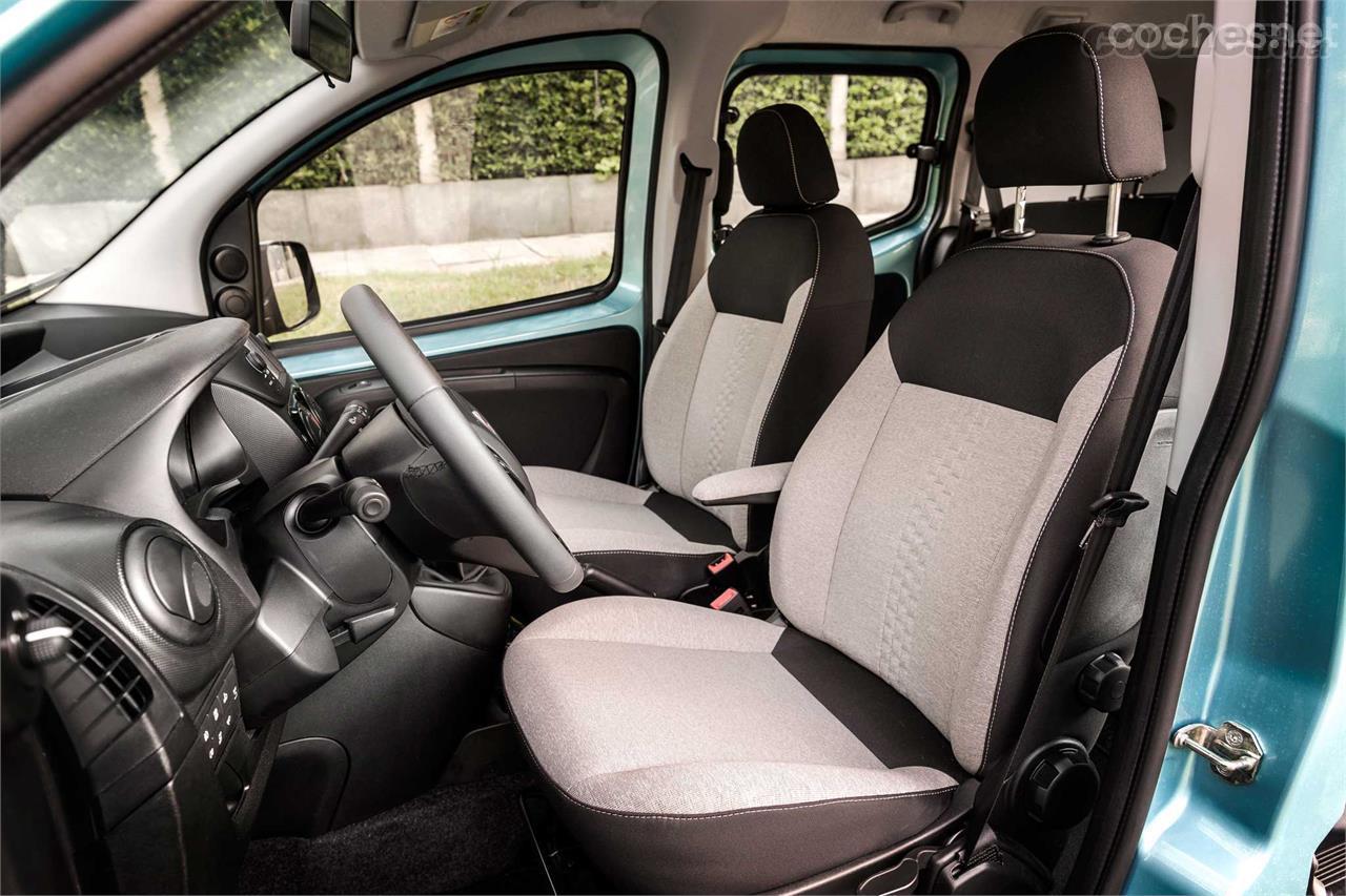 Fiat Qubo: maniobrable y original - foto 3