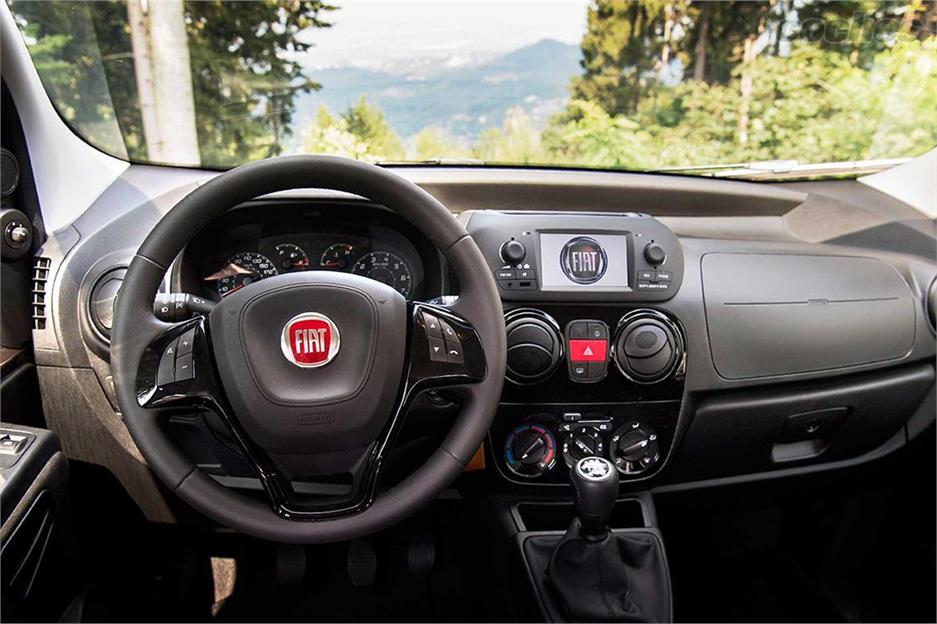 Fiat Qubo: maniobrable y original
