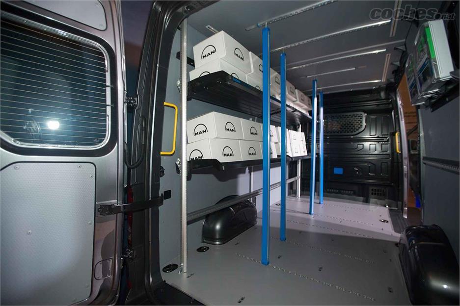 MAN estrena gama de furgonetas
