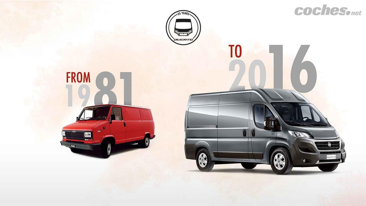 35 años de Fiat Ducato