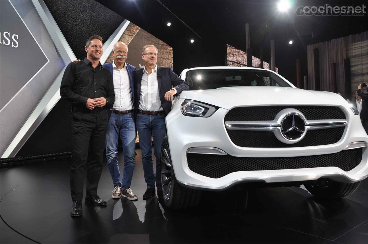 Así será el Clase X de Mercedes Benz - foto 40