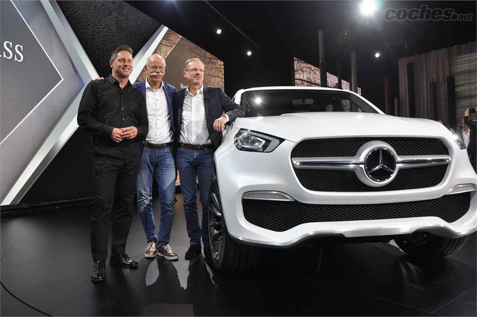 Así será el Clase X de Mercedes Benz