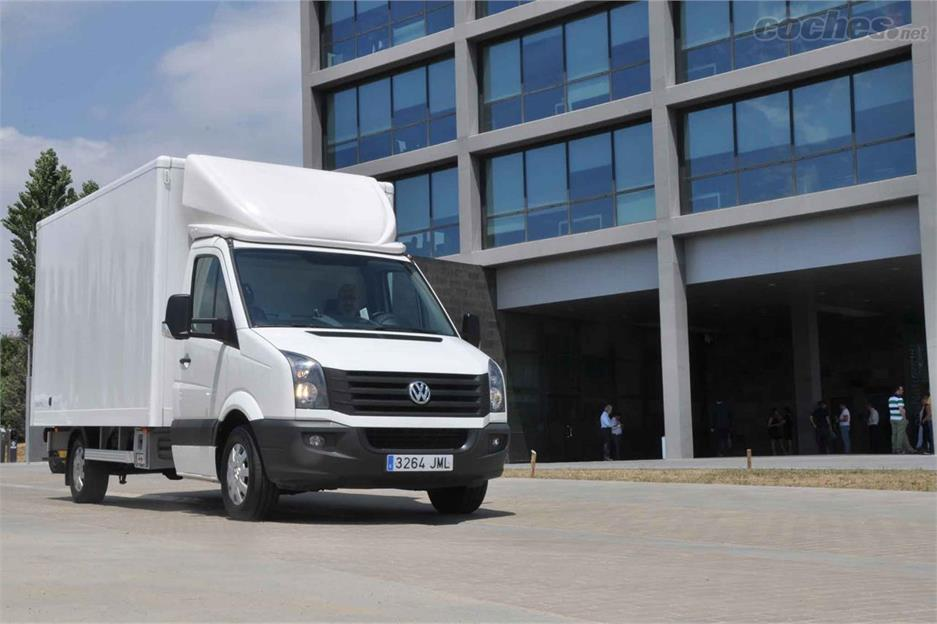 VW Crafter Box