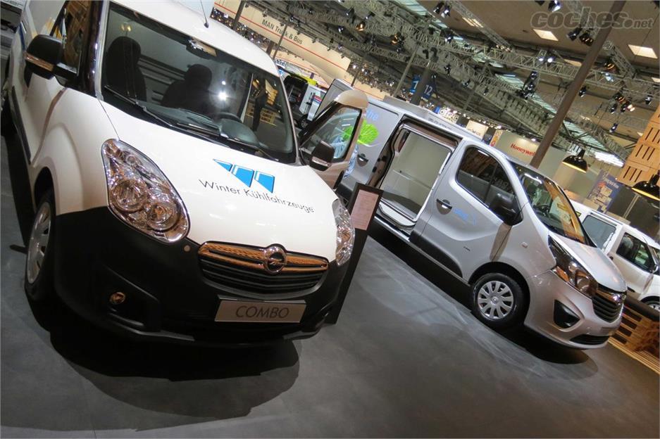 Gama vehículos comerciales Opel