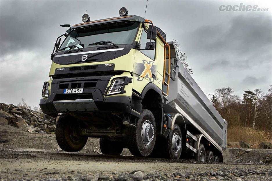 El Volvo FMX crece hasta 66 toneladas