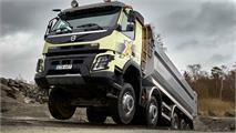 El Volvo FMX crece hasta las 66 toneladas