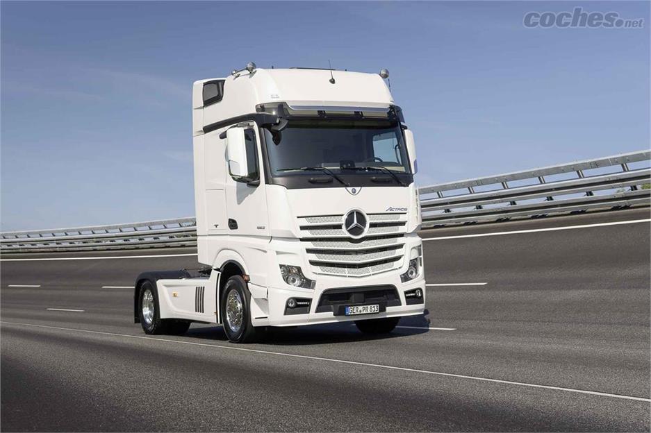 El Mercedes Actros cumple 20 años