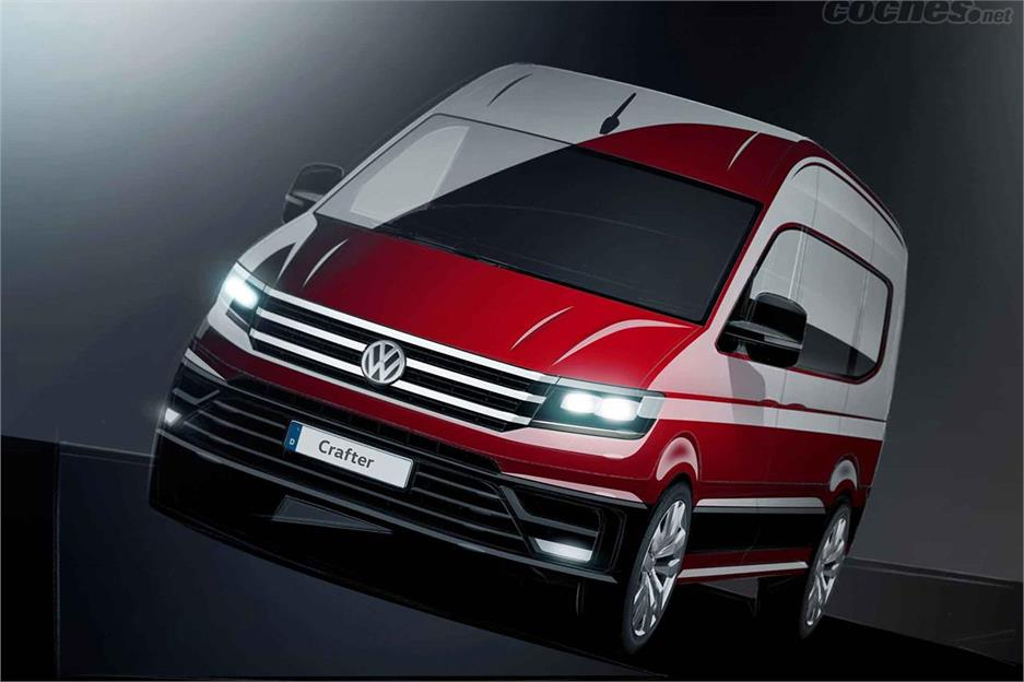 Llega el nuevo Crafter de VW