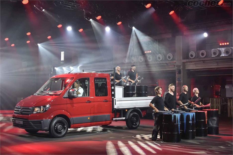 Volkswagen desvela el nuevo Crafter