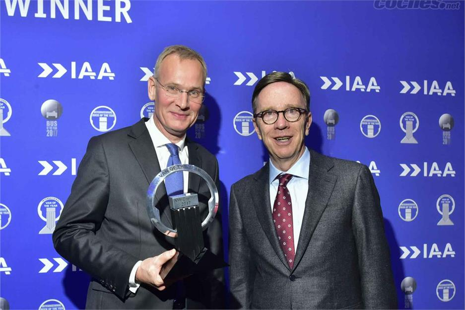 El Crafter De Volkswagen Van of the Year