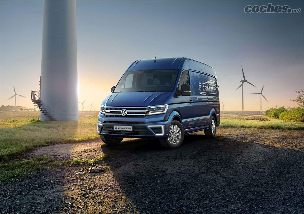 El Crafter De Volkswagen Van of the Year - foto 1