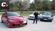 Comparativa: Alfa Giulia QV - BMW M3 - Mercedes C63 AMG: Duelo en la cumbre