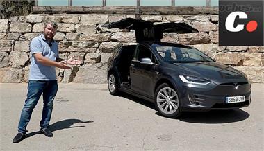 Tesla Model X 75D, SUV eléctrico