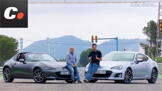 Mazda MX-5 RF vs Subaru BRZ: Duelo de deportivos asequibles