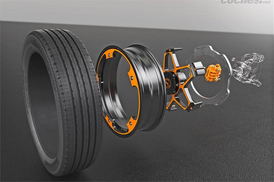 Continental reinventa la rueda