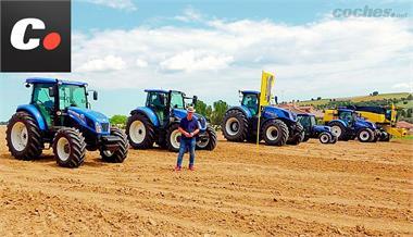 """New Holland Job Cap. 3: """"Drag race""""... con tractores"""