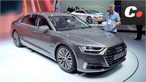 Audi A8, RS4 Avant y R8 V10 RWS en Frankfurt 2017