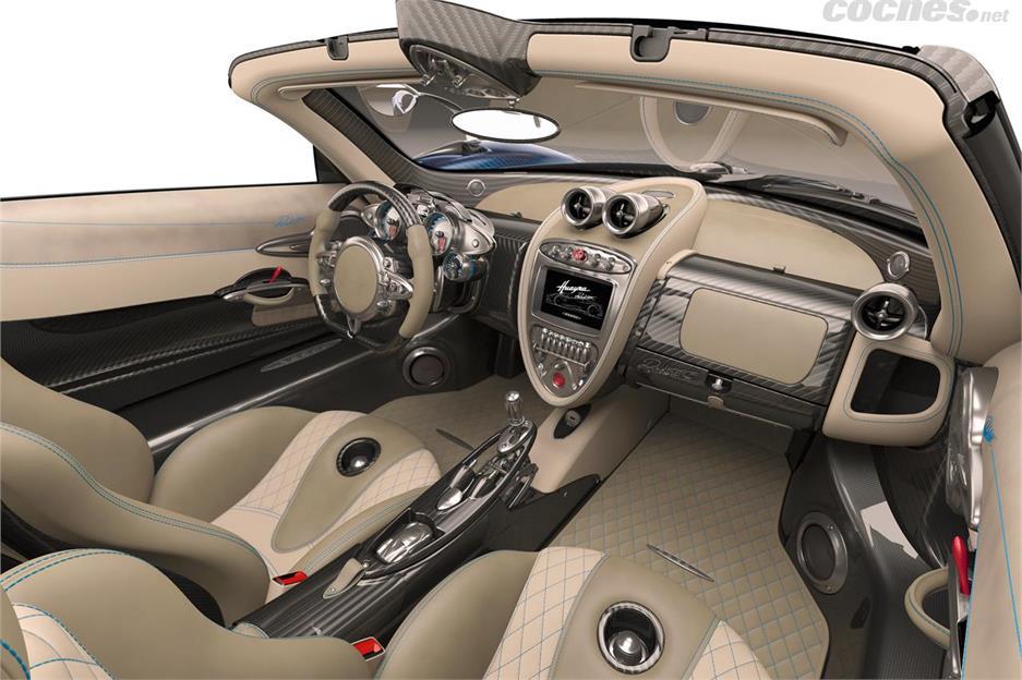 Pagani Huayra Roadster con 764 CV
