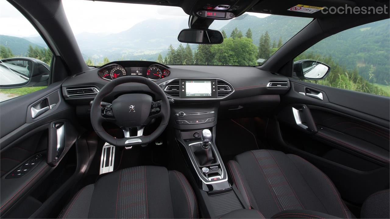 Peugeot 308 2017, Primera prueba