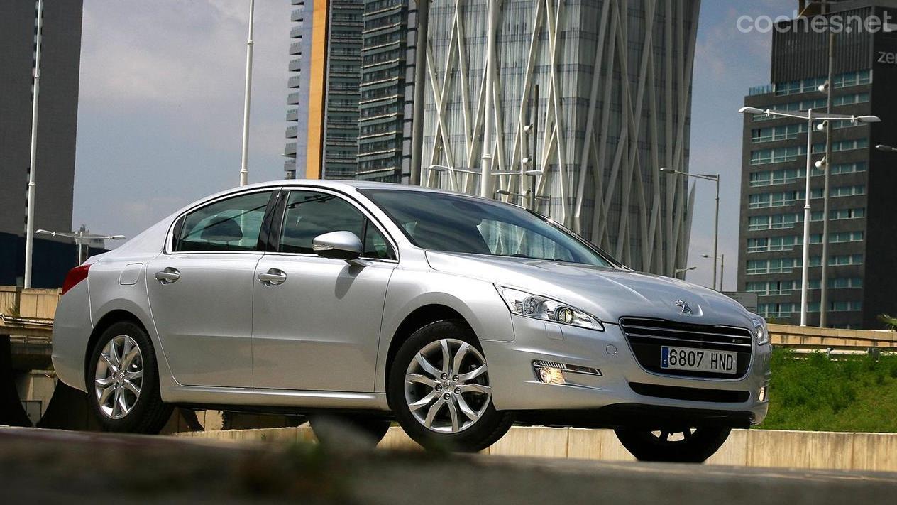 Pruebas Peugeot 508 2013 Noticias Coches Net