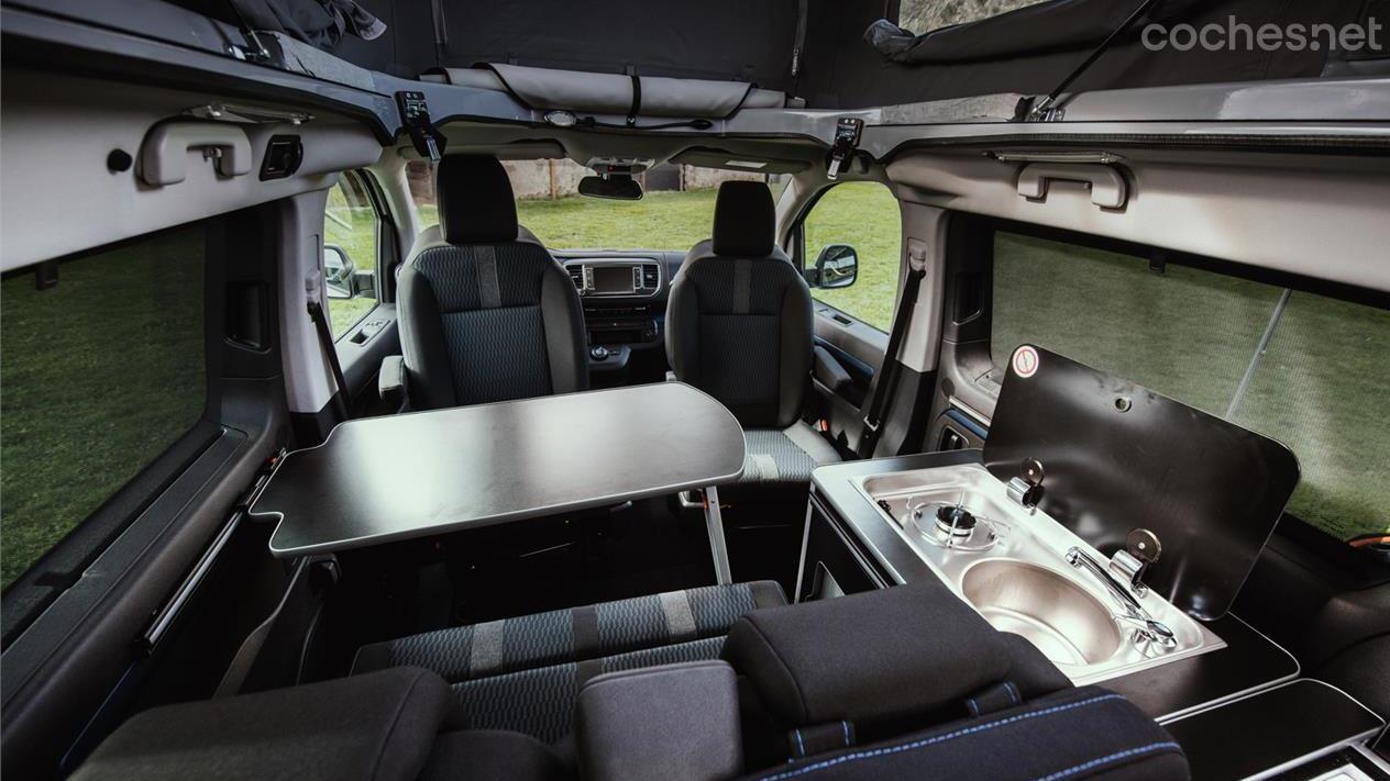 Nuevos Peugeot Traveller Y Rifter Camperizados Noticias Coches Net