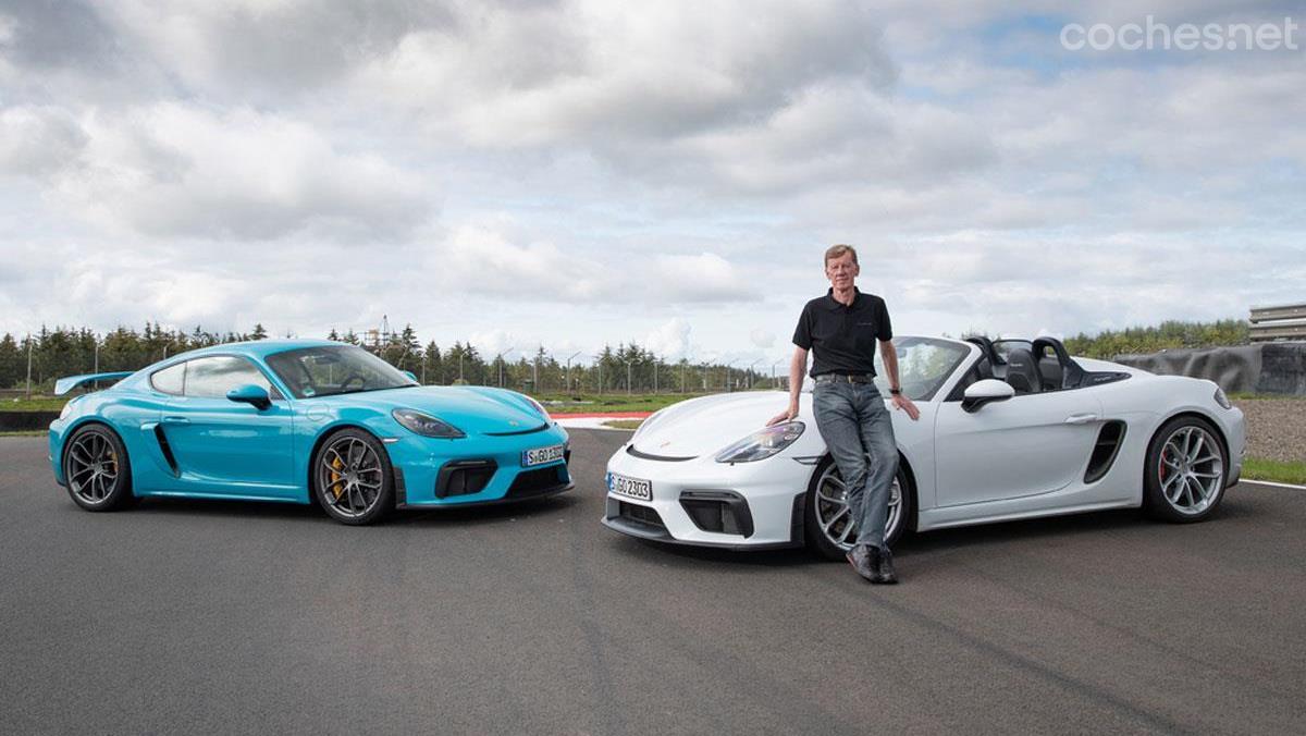 Porsche 718 Cayman GT4 y 718 Spyder: Larga vida al